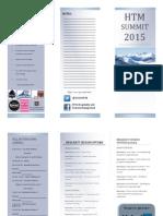 htm summit brochure
