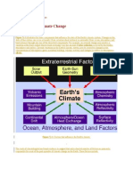 Causes of Climate Changes