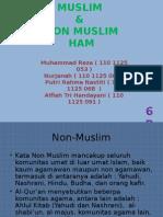 11. Muslim, Nonmuslim, HAM