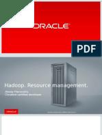 Resource Managment in Hadoop