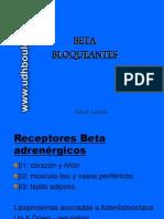 Cardio11 - Inotrópicos, Vasodilatadores y Betabloqueantes