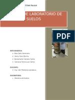 Informe de Laboratorio de Suelos Ucv