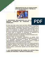 Organismos Restaurativos en La Legislación de Honduras