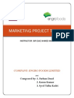 Marketing Report Tarang
