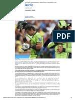 Fitness, Fielding, Batting Substandard - Misbah-ul-Haq _ Cricket _ ESPN Cricinfo