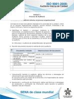 Actividad de Aprendizaje Unidad 3- De La Auditoria Interna Al Proceso Organizacional Resuelto