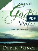 Declaringgodsword Derekprince 140731212548 Phpapp01