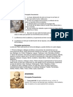 Filosofos, Pensamientos y Aportes