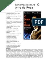 Ficha de Exploração de Filme o Nome Da Rosa 2
