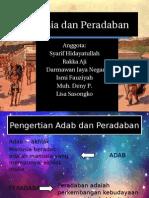 Manusia Dan Peradaban ISBD