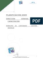 PLANIFICACION 2009 capacitacion