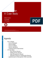 ITIL V3 at HP a Case Study