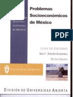 Problemas Socioeconomicos de Mexico Area v-Derecho Economico