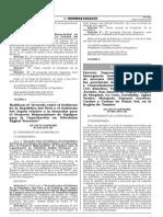 Ds. 005-2015-SA - Declara Emergencia Sanitaria en Tumbes Por 90 Dìas