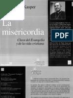 Kasper. W. La Misericordia
