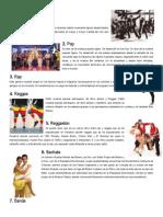 Lista de 10 Géneros musicales con definición