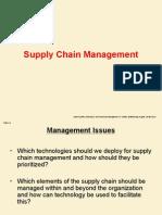 6- Supply Change Management