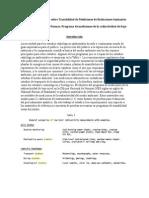 Actas Reunión Sobre Trazabilidad de Mediciones Radiaciones Ionizantes