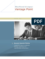 Vantage Point 2015 Issue1 Dynamic Scenario Planning