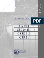 Technical Data CS304 H L CS321