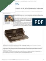 Así Disminuyó El Tamaño de La Tecnología Con El Pasar de Los Años - Imprimir La Gaceta