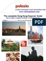 Hong Kong Stopover Guide - Chapter 3