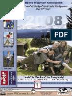 Rocky Mountain Connection Catalog 2008 (Levi's & Docker's)
