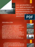 Los Geotextiles y Sus Aplicaciones en La Construcción