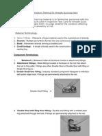 Familiarisation Training for Amsafe Quickzip Nets