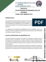 Proyecyo de i Coeic Utea-Abancay 2014