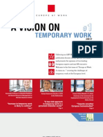 ADP Europe at Work - A vision on Temporary Work