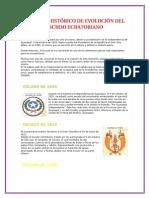 Proceso Histórico de Evolución Del Escudo Ecuatoriano