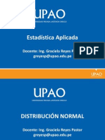 Distribución Normal- Estadistica