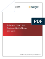 Integra Polycom VVX 500 Business Media Phone