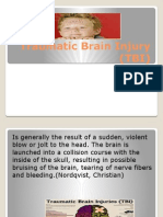 traumatic brain injury (tbi) ppt