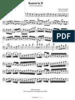 Pachelbel Johann Kanon Flute 15943