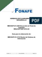 MECISOF-O1-3112 Diseño Del Sistema de Información