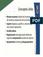 Evaluación de yacimientos aditividad y otros