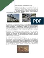 Reseña Histórica de La Ingeniería Civil