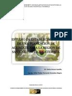 Estudio Para Establecer Plantacion Aguacate