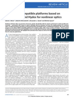 New CMOS-compatible Platforms Based on Silicon Nitride and Hydex for Nonlinear Optics