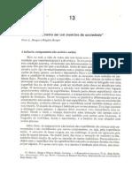 Texto 2 - Sociologia - Socializacao Como Ser Um Membro Da Sociedade