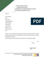 Formulir Pendaftaran Wmd 2015 - Ed3