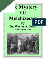 The Mystery of Melchizedek