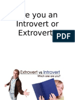 are you an introvert or extrovert