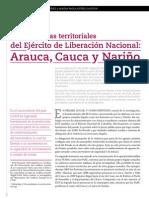 Las Dinamicas Territoriales Del ELN
