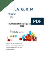 Paralelismo en SQL Server