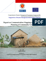 Report -Communication Mapping and Planning at Community Level
