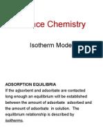 j Adsorption Isotherm Model