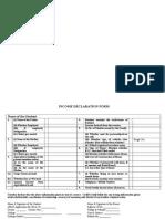 Income Declaration Form(1)